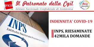 Patronato Inca Cgil Nazionale - Indennità COVID-19: Inps, riesaminate 42mila domande