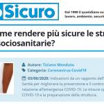 PuntoSicuro - COVID-19: come rendere più sicure le strutture residenziali sociosanitarie?