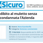PuntoSicuro - Lavoratore adibito al muletto senza formazione: condannata l'Azienda