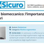 PuntoSicuro - Sovraccarico biomeccanico: l'importanza degli ergoformatori