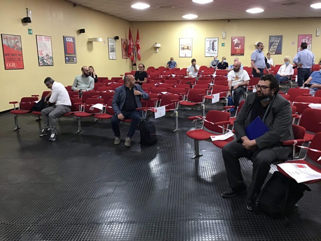 assemblea generale fillea cgil modena elezione nuovo segretario, 19.6.20