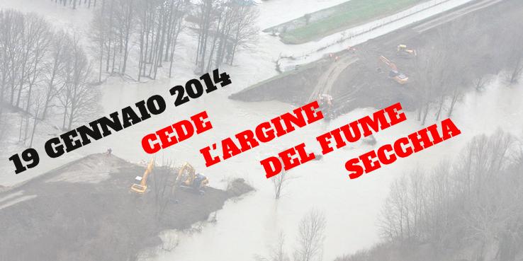 alluvione modenese gennaio 2014