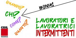 Bonus lavoratori intermittenti - 2020 - Covid-19
