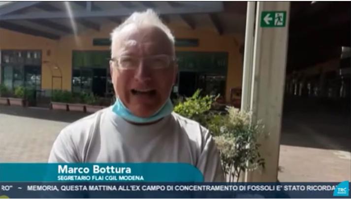 Marco Bottura - Segretario Generale Flai Cgil Modena