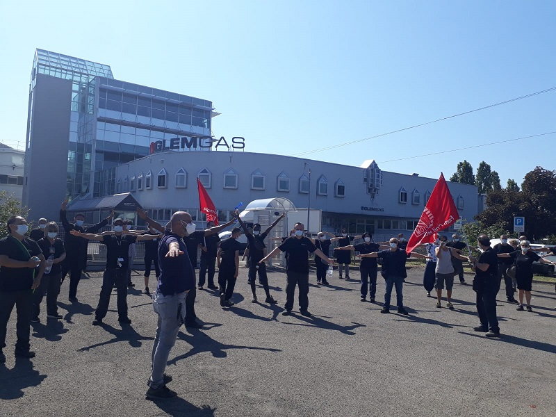 glem gas sciopero 20.7.20