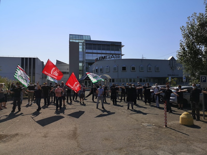 sciopero glem gas 21.7.20