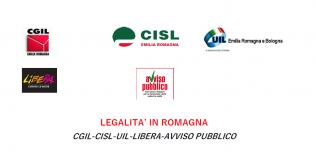manifesto per la legalità in Romagna