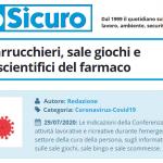 PuntoSicuro - COVID-19: parrucchieri, sale giochi e informatori scientifici del farmaco