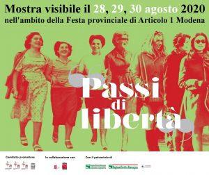 "Mostra fotografica ""Passi di libertà"" - Spi Cgil Modena"