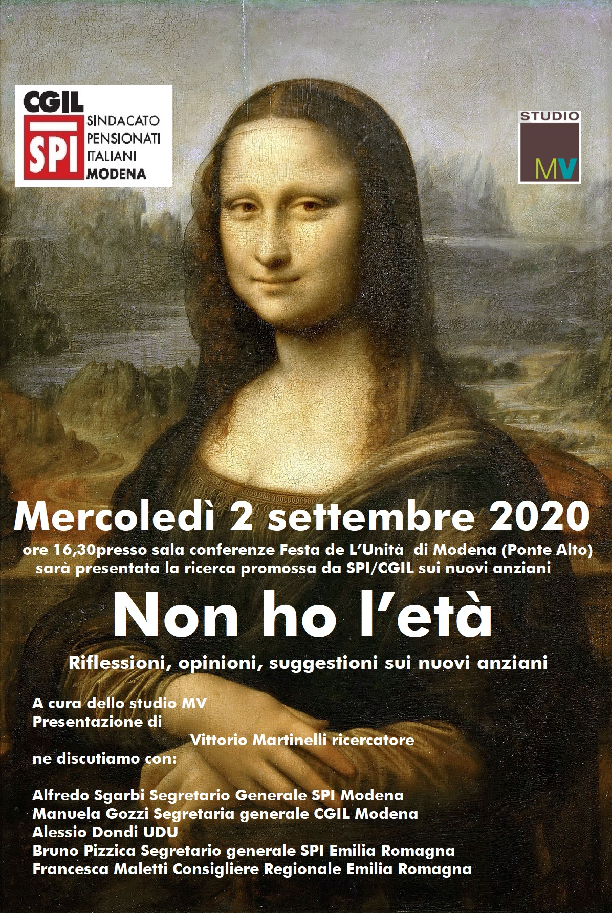 Non ho l'età - Innovativa ricerca MV / Spi Cgil Modena