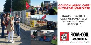 Presidio Goldoni Arbos Carpi - 5 settembre 2020