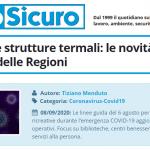 PuntoSicuro - Biblioteche e strutture termali: le novità della Conferenza delle Regioni