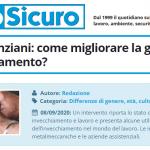 PuntoSicuro - Lavoratori anziani: come migliorare la gestione dell'invecchiamento?