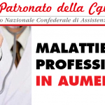 Patronato Inca Cgil Nazionale - Malattie professionali in aumento