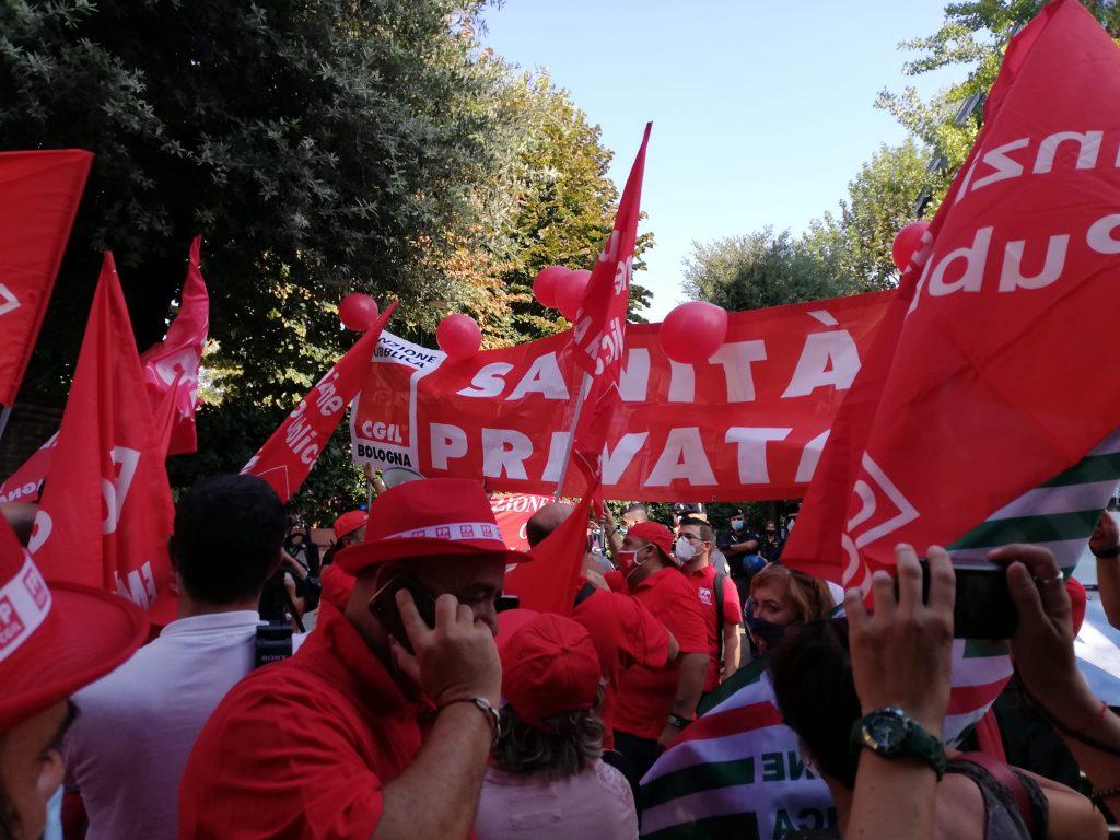 sanita_privata_presidio_confindustria_ER 16.9.20