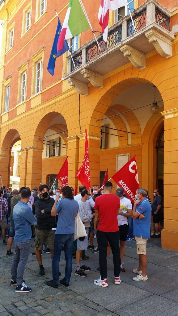 Goldoni Arbos sciopero e volantinaggio, 3.9.20 (1)