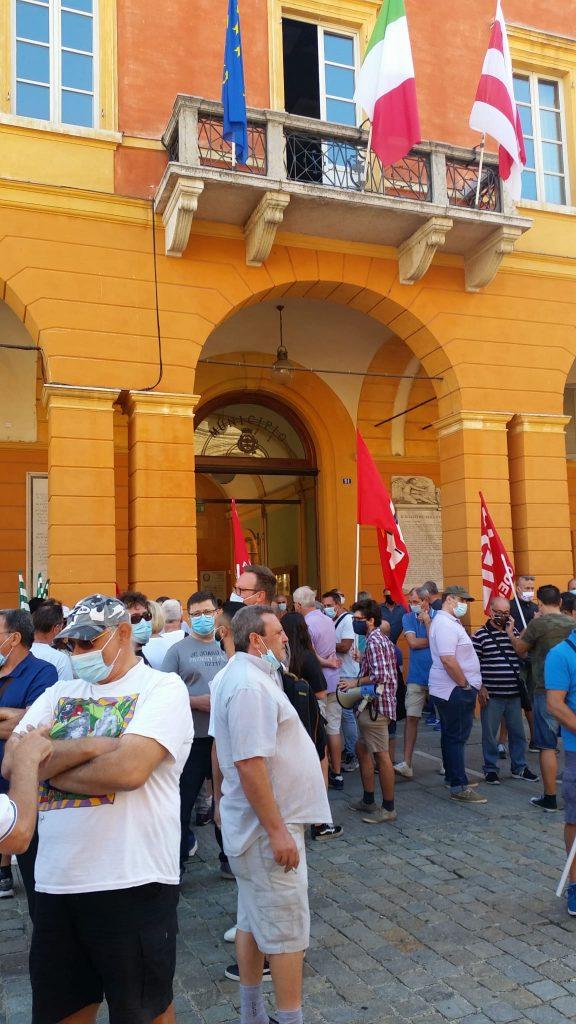 Goldoni Arbos sciopero e volantinaggio, 3.9.20 (4)