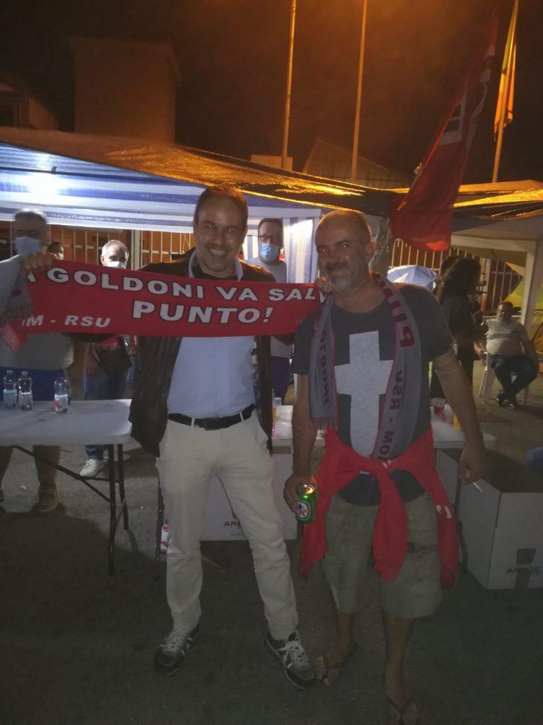 sindaco Bellelli in solidarietà