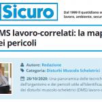 PuntoSicuro - Prevenire i DMS lavoro-correlati: la mappatura del corpo e dei pericoli