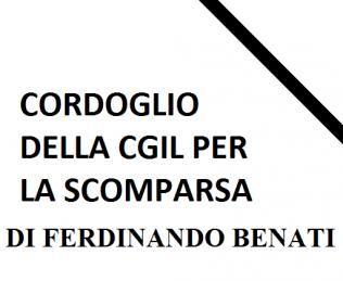 decesso FERDINANDO BENATI
