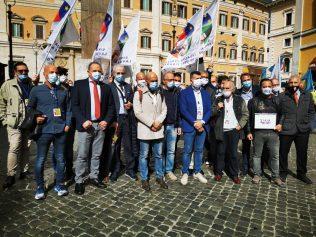 presidio Montecitorio sindacati militari, 7.10.20