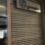 serrande chiuse per sciopero nei negozi modenesi a marchio Z Panorama, I Portali e Reggio Emilia (3)