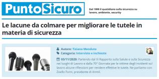 PuntoSicuro - Le lacune da colmare per migliorare le tutele in materia di sicurezza