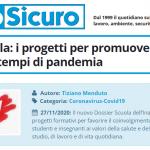 PuntoSicuro - Dossier Scuola: i progetti per promuovere la sicurezza in tempi di pandemia