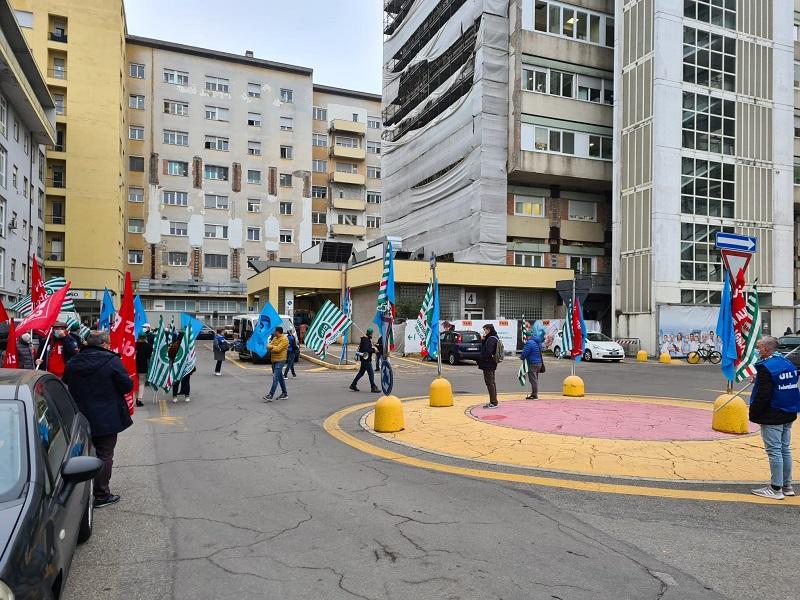 mobilitazione per lavoratori sanità, 13.11.20