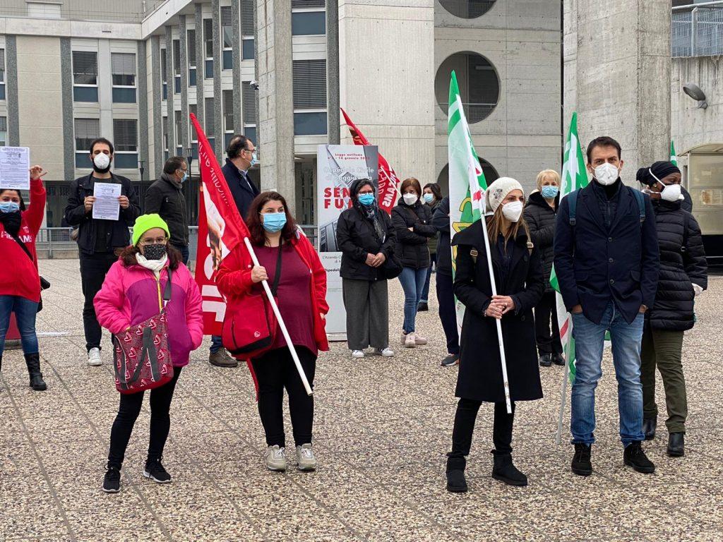 presidio ospedale Baggiovara ccnl multiservizi, 13.11.20