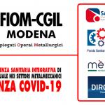 Covid-19: fondi di assistenza sanitaria integrativa di natura contrattuale nei diversi settori metalmeccanici