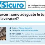 PuntoSicuro - COVID-19 e carceri: sono adeguate le tutele per i detenuti e i lavoratori?