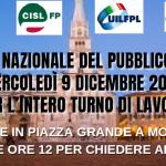 Pubblico impiego sciopero e presidio 9.12.20