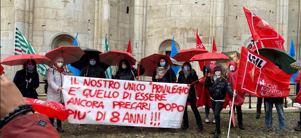 somministrati sisma, sciopero pubblico impiego 9.12.20