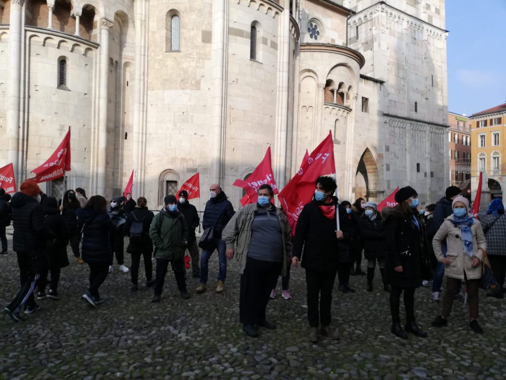 presidio lavoratori residenze anziani, 11.12.20