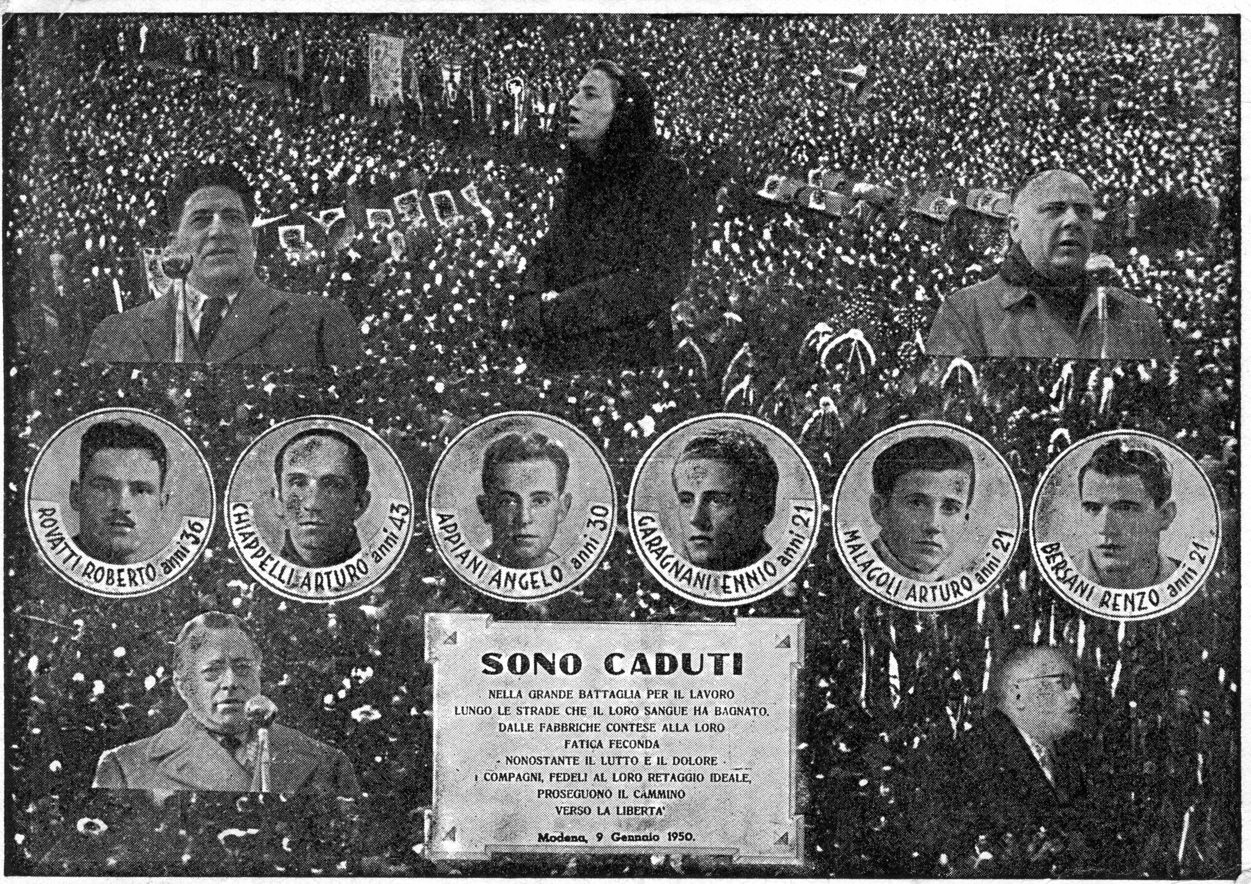 9 gennaio 1950 - La memoria della città