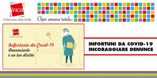 Patronato Inca Cgil Nazionale - Infortuni da covid. Inca: incoraggiare le denunce