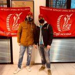 Simone Sacchi e Michele Di Napoli RSU Fiom Cgil di Modena dell'azienda Valvole Italia