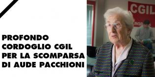 Profondo cordoglio Cgil per la scomparsa di Aude Pacchioni - 12/1/2021