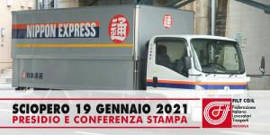 Sciopero Nippon Express - Bomporto (19/1/2021)