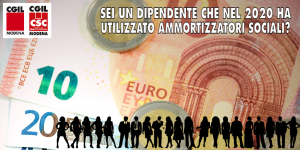 Dichiarazione redditi per dipendenti che nell'anno 2020 hanno utilizzato ammortizzatori sociali senza ricevere l'anticipo da parte del datore di lavoro (26/1/2021)