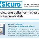 PuntoSicuro - Macchine: evoluzione della normativa tecnica e attrezzature intercambiabili