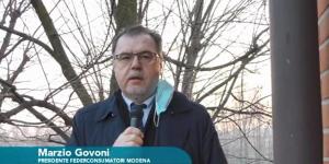 Marzio Govoni, presidente Federconsumatori Modena