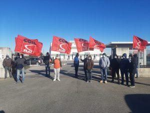 sciopero con presidio Fiorani Castelvetro 26-27 gen 2021