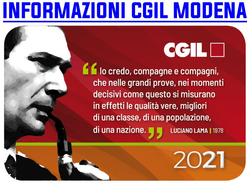 Tessera Cgil 2021