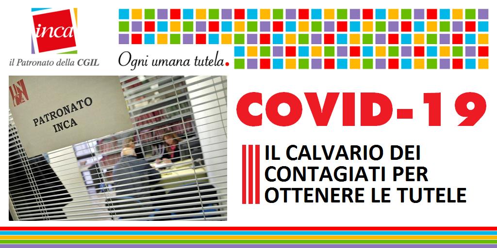 Patronato Inca Cgil Nazionale - Covid-19: il calvario dei contagiati per ottenere le tutele
