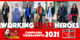 campagna tesseramento cgil 2021-working class heroes