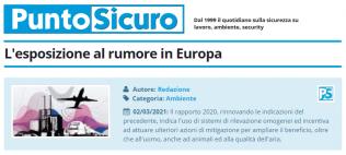 PuntoSicuro - L'esposizione al rumore in Europa