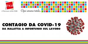 Patronato Inca Cgil Nazionale - Contagio da COVID-19: da malattia a infortunio sul lavoro