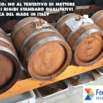 Federconsumatori - Aceto balsamico: no al tentativo di mettere in discussione i rigidi standard qualitativi di un'eccellenza del Made in Italy